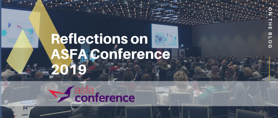 Reflections on ASFA Conference 2019