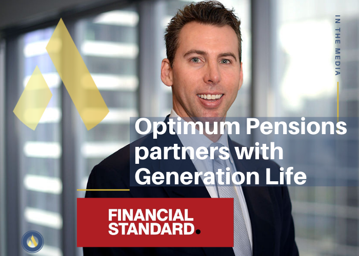 Grant Hackett pictured: Optimum Pensions partners with Generation Life
